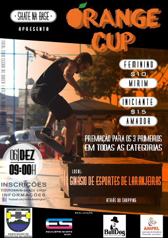 Cartaz do Orange Cup